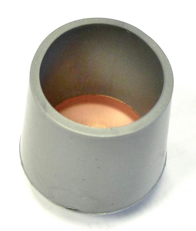 Patin PVC Pour Recouvrir Lextremite Dun Pied De Type Tube Cylindrique